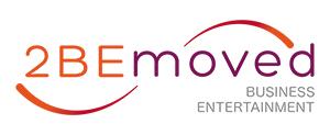 Logo 2bemoved Bedrijfstheater boeken