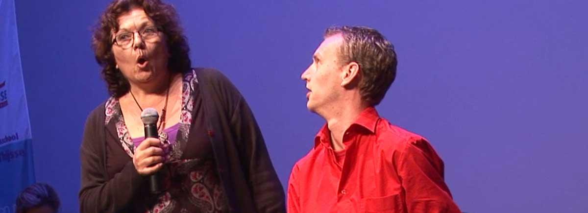improvisatie theater op maat voor bedrijven The Big Mo