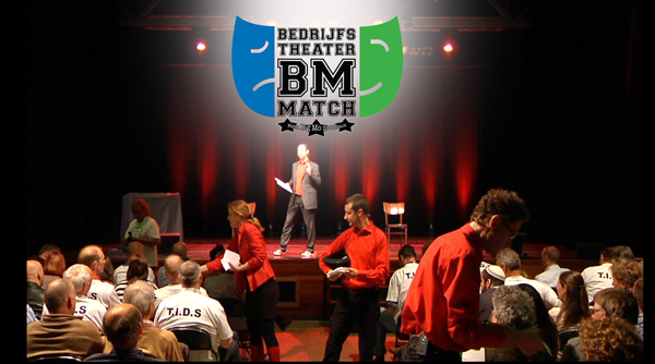 theatersport elementen bij The Big Mo