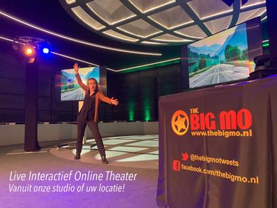 Live Online Theater interactieve streaming digitale dagvoorzitter