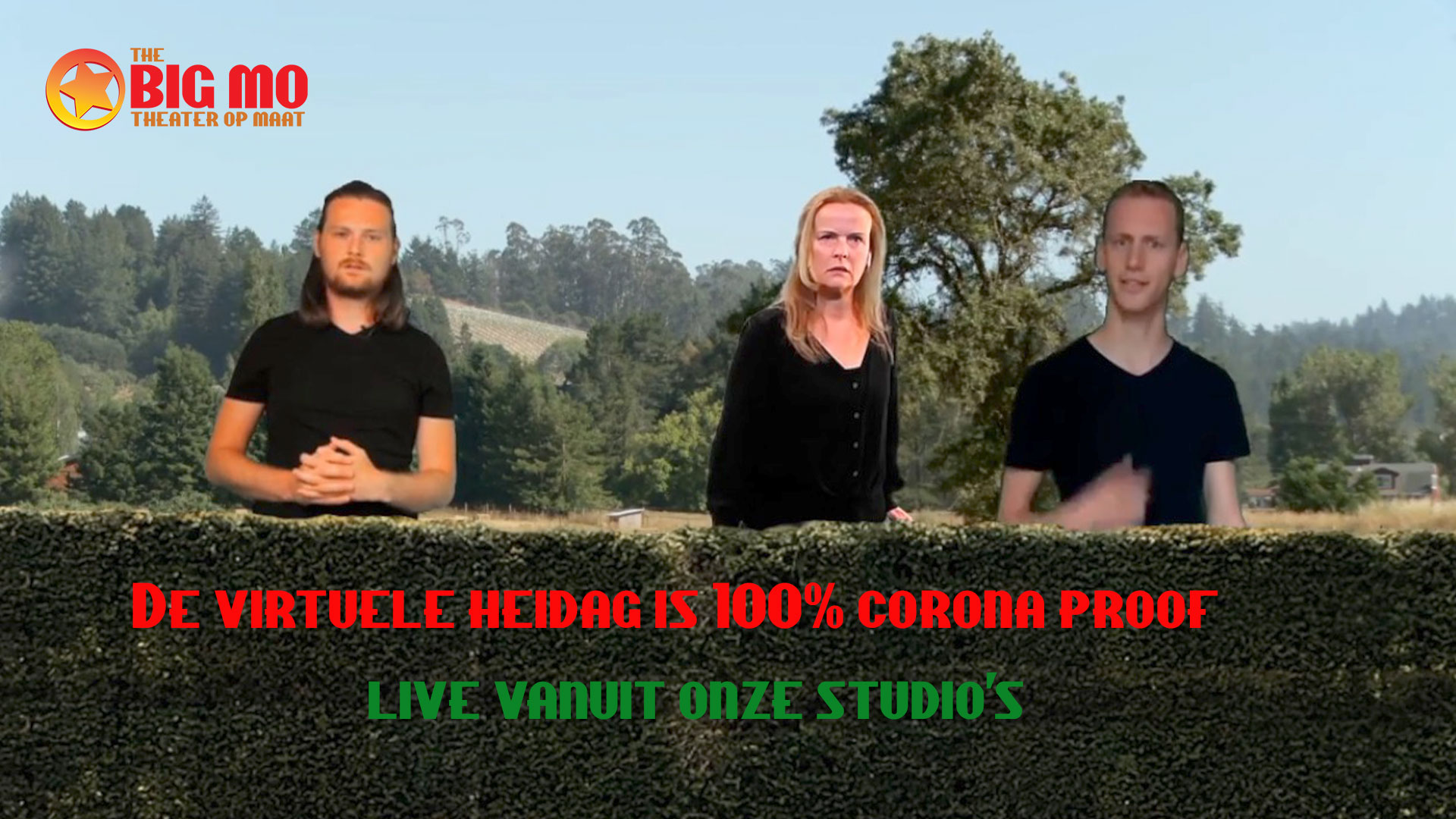 persfoto online heidag theater corona proof
