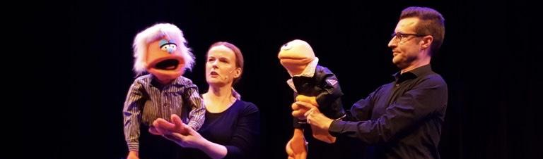 puppet x,volwassen improvisatietheater met poppen!
