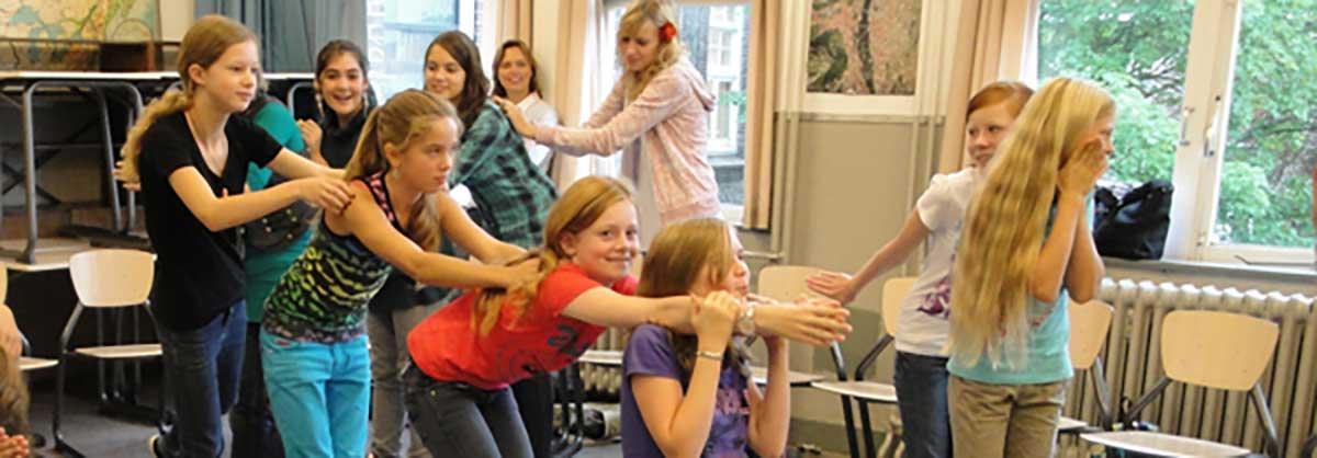 workshops theater improvisatie voor voortgezet onderwijs en basisscholen